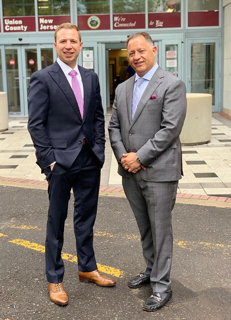 two criminal defense attorneys