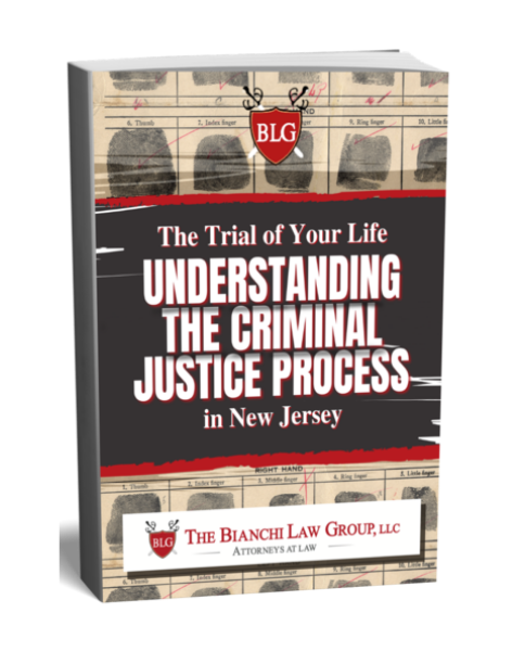 Book about the criminal process in NJ by The Bianchi Law Group, LLC
